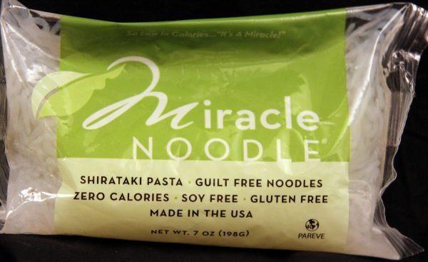 Miracle Noodle Angel Hair Shirataki Noodles 7oz - 10pack (Shipping cost included)