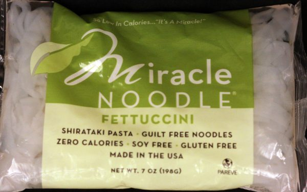 Miracle Noodle Fettuccine Shirataki Noodles 7oz-10 Pack (Shipping Cost included)