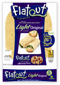 Flatout Flat Bread Original Light