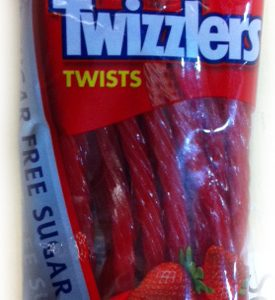 Twizzlers Sugar Free Strawberry Licorice 5oz