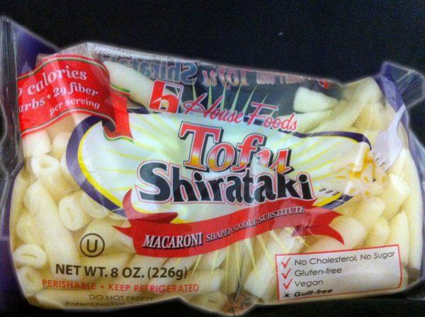 House Foods Tofu Shirataki Pasta Macaroni shape 8oz bag