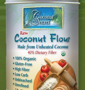 Coconut Secret Raw Coconut Flour 1lb bag