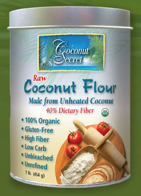 Coconut Secret Raw Coconut Flour 1lb bag