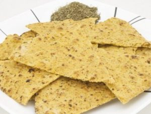Sami's Bakery Low Carb Millet and Flax Italian Herb Pita Chips