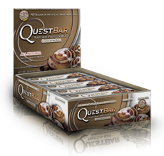 Quest Bar All Natural Line Low Carb Cinnamon Roll Bar