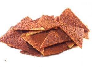 Sami's Bakery Low Carb Spicy Bbq Millet and Flax Pita Chips