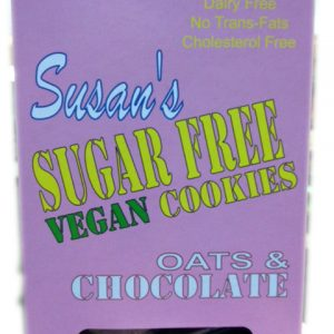 Susan's Sugar Free Oats & Chocolate Cookies