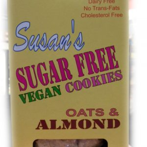 Susan's Sugar Free Oats & Almonds Cookies