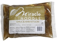 Miracle Noodle Garlic and Herb Fettucini noodles 7 oz bag