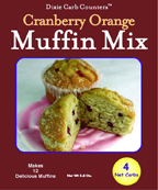 Dixie Diners Low Carb Cranberry Orange Muffin Mix