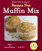 Dixie Diners Low Carb Banana Nut Muffin Mix