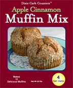 Dixie Diners Low Carb Apple Cinnamon  Muffin Mix