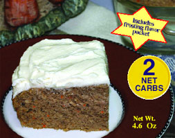 Dixie Diners Low Carb Carrot Snackin' Cake Mix