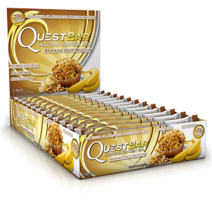 Quest Bar All Natural Line Low Carb Banana Nut Muffin Bar