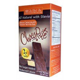 Chocorite Low Carb Milk Chocolate Peanut Butter Bar 5 pack