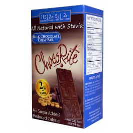 Chocorite Low Carb Milk Chocolate Crisp Bar 5 pack