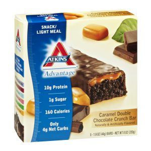 Atkins Advantage Double Chocolate Crunch Caramel Box of 5 bars