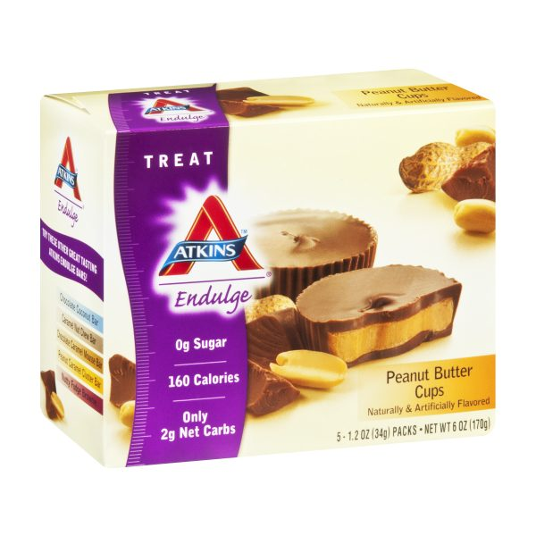 Atkins Endulge Low Carb Peanut Butter Cups Box of 5