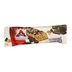 Atkins Advantage Chocolate Chip Granola Bar Box of 5