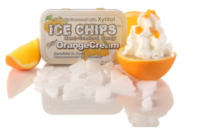 Ice Chips Sugar Free Orange Cream Xylitol chips