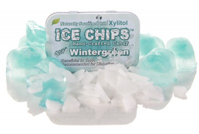 Ice Chips Sugar Free Wintergreen Xylitol chips