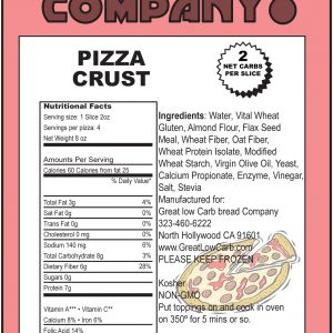 Great Low Carb Pizza Crust 9""