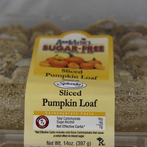 Ann Marie's Sugar Free Sliced Pumpkin Loaf