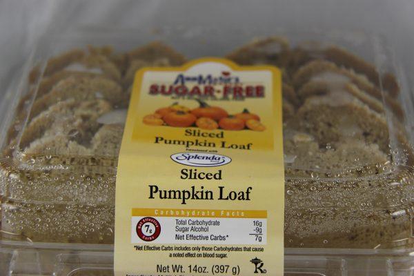 Ann Marie's Sugar Free Sliced Pumpkin Loaf