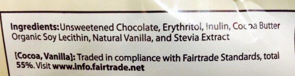 Lily's No Sugar Added Dark Chocolate Chips 9oz Bag