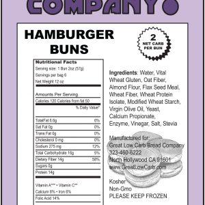 Great Low Carb Hamburger Buns