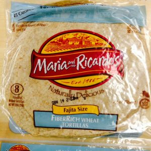 Maria and Ricardos Low Carb Fajita size Tortillas