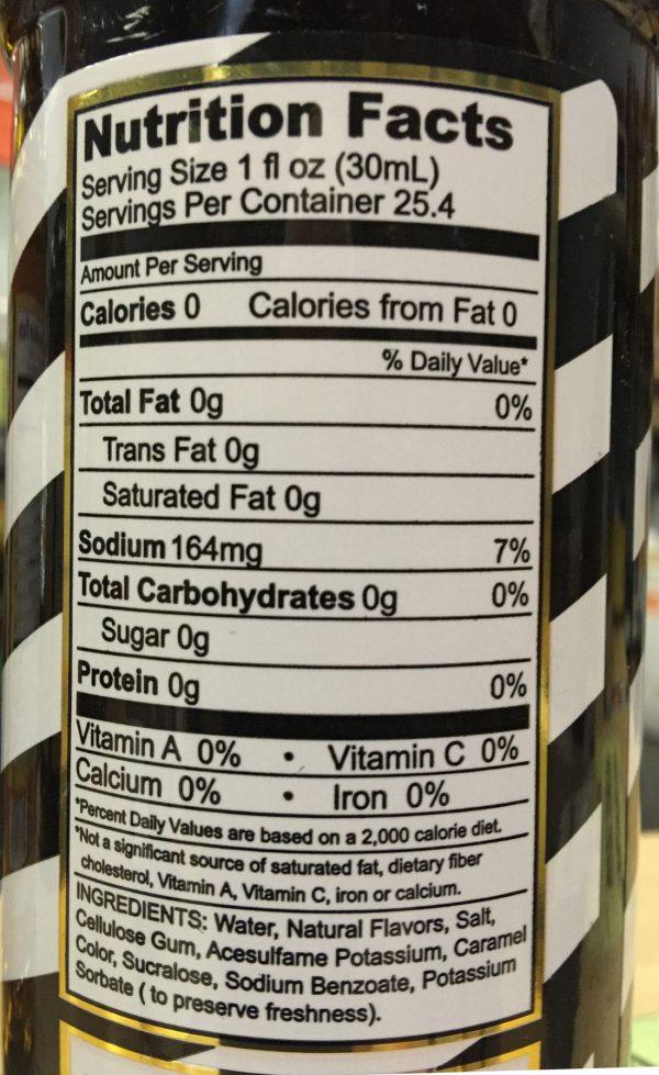 Skinny Syrups Sugar Free Salted Dark Chocolate Espresso Syrup 25.4oz