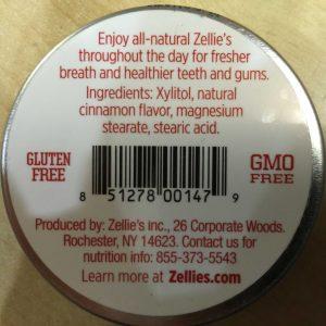 Zellie's Sugar Free Cinnamon Mints 65 pieces