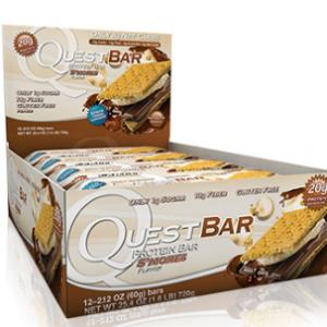 Quest Bar Low Carb Smores Bar Box of 12