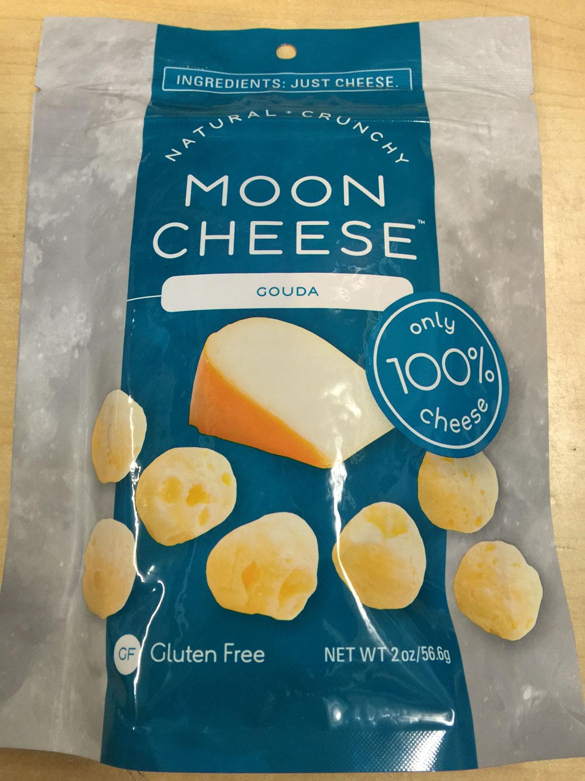 Moon Cheese Gouda flavor 2oz bag