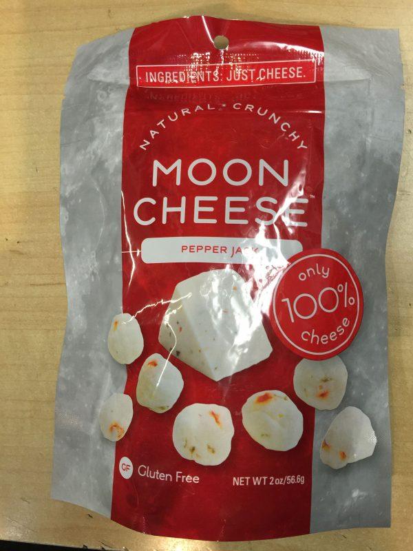 Moon Cheese Pepperjack Flavor 2oz Bag