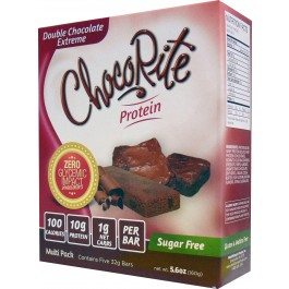 Chocorite Low Carb Double Chocolate Extreme 5 bars