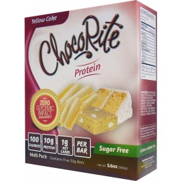 Chocorite Low Carb Yellow Cake 5 Bars