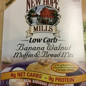 New Hope Mills Low Carb Banana Walnut Muffin/bread mix