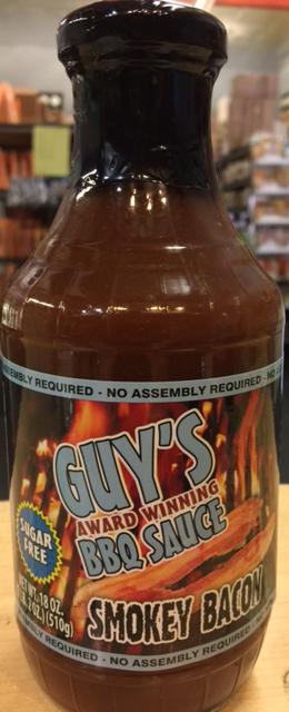Guys Low Carb Bbq Sauce Smokey Bacon 18oz