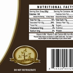 Nutilight Low Carb Dark Hazelnut Spread 11oz jar