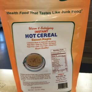 Dixie Diner Low Carb Hot Cereal Sweet Maple 15 serving bag
