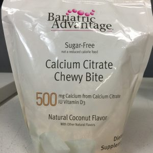 Bariatric Advantage 500mg Calcium Citrate Coconut 90 chews