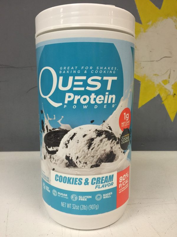 Quest Cookies N Cream Shake Mix 2lb tub